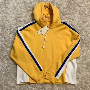NWT Levi's Cropped Hoodie
